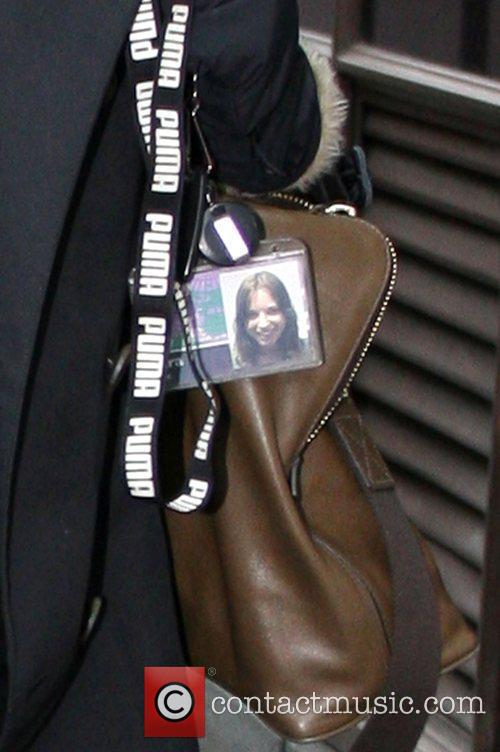 Sara Cox's very old identification pass for Radio...