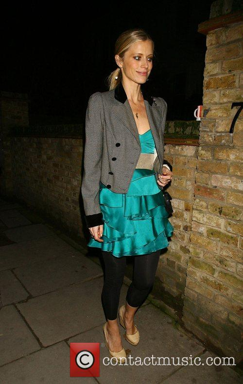 Laura Bailey attending the Freud Annual Christmas Party...