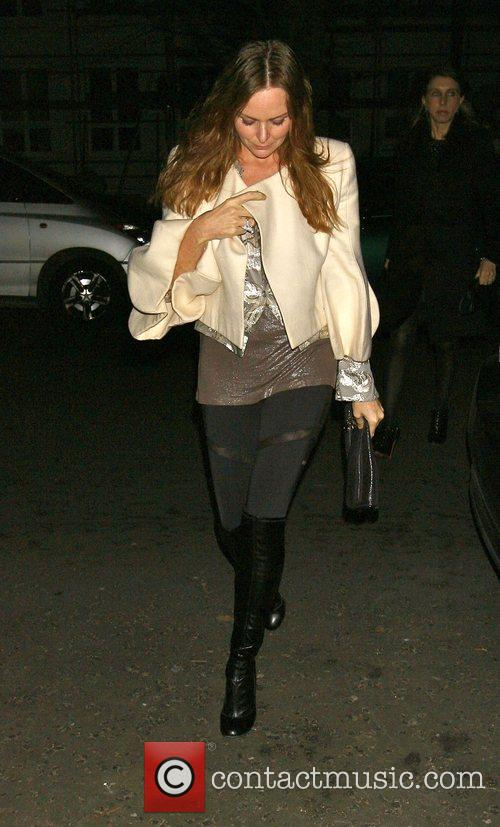 Stella McCartney attending the Freud Annual Christmas Party...