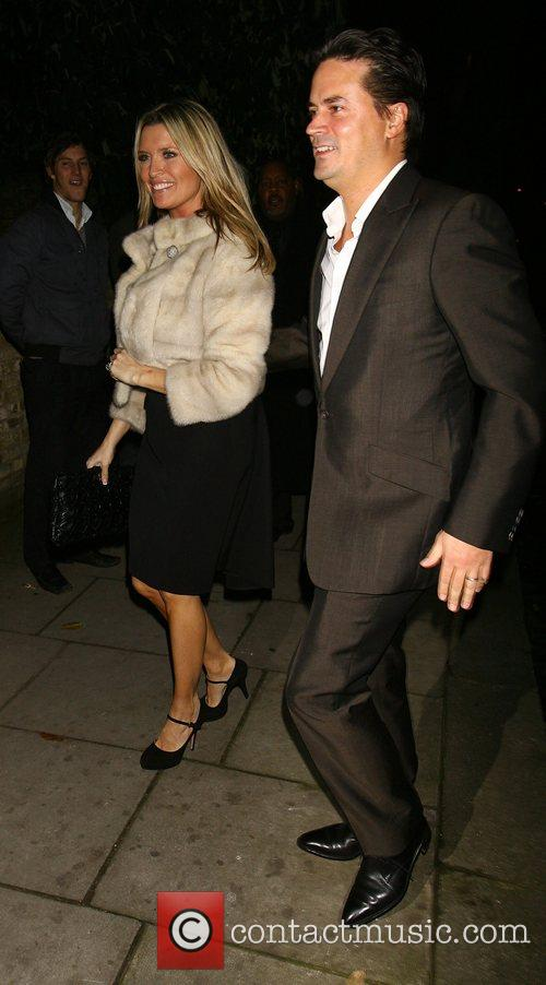 Tina Hobley and Wheeler attending the Freud Annual...