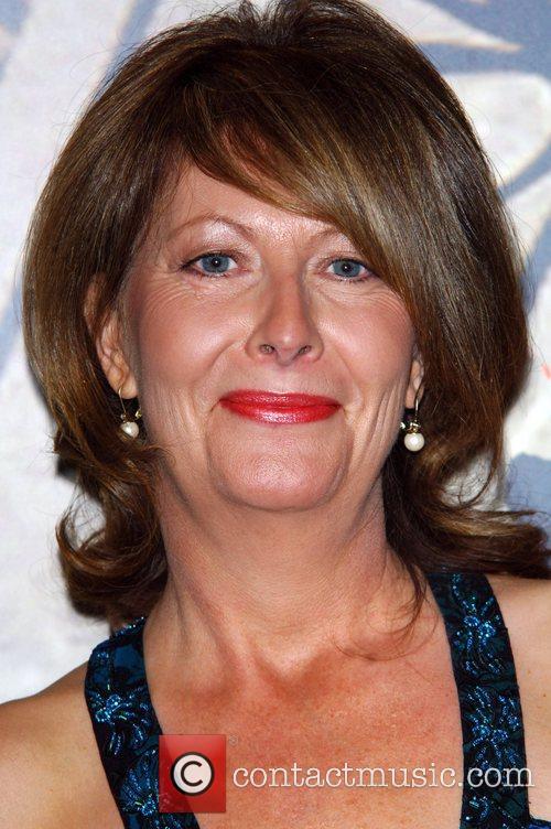 Anne Zouroudi arrives for the ITV3 Crime Thriller...