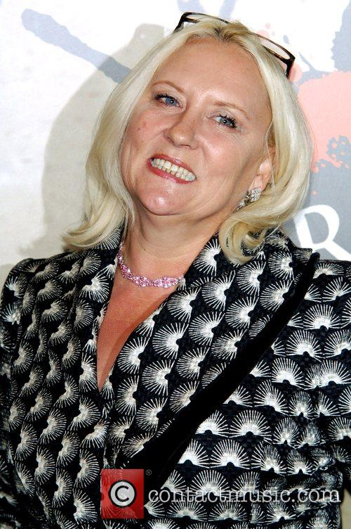 Martina Cole arrives for the ITV3 Crime Thriller...