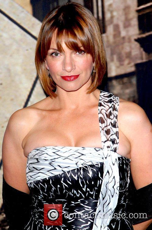 Simone Lahbib arrives for the ITV3 Crime Thriller...