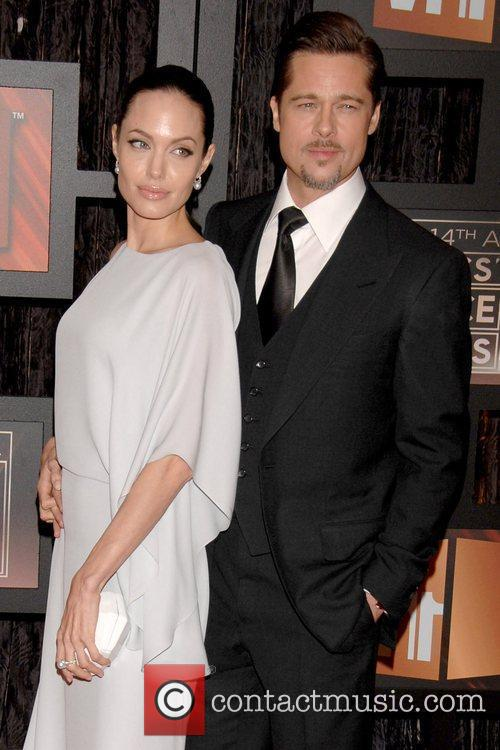 Angelina Jolie and Brad Pitt 6