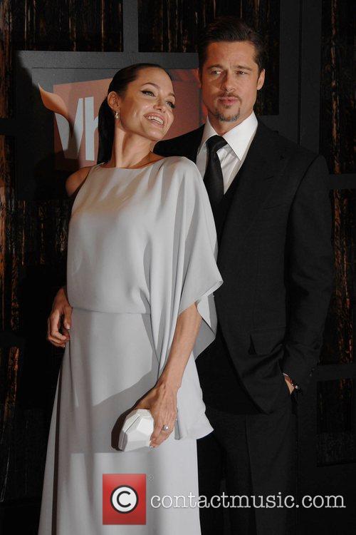 Angelina Jolie and Brad Pitt 13