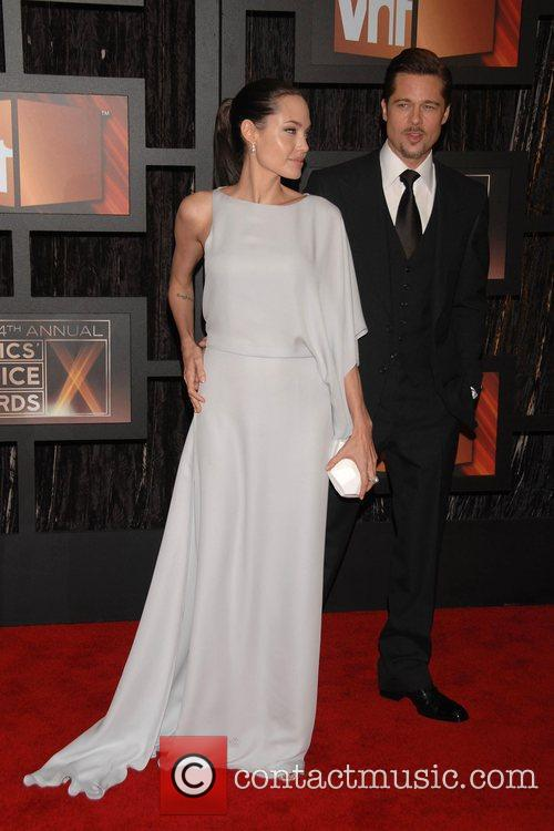 Angelina Jolie and Brad Pitt 3
