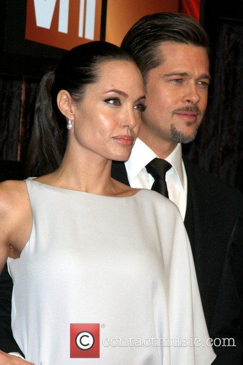 Angelina Jolie and Brad Pitt 10