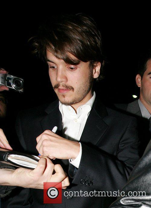 Celebrities arrive at an after party following the...