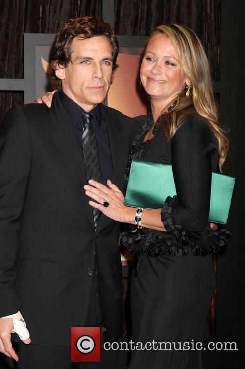 Ben Stiller and Christine Taylor 3