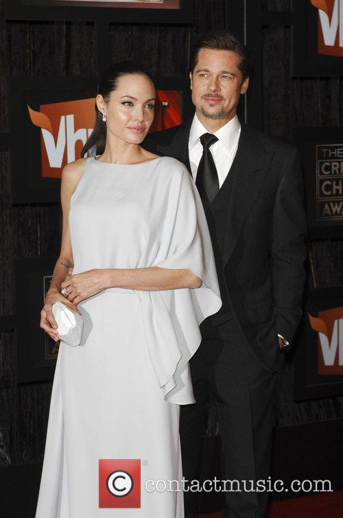 Angelina Jolie and Brad Pitt 15