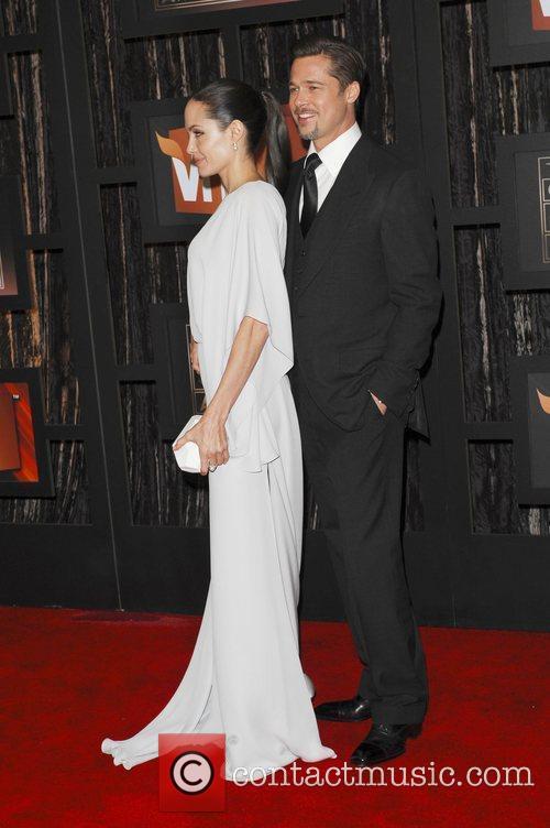 Angelina Jolie and Brad Pitt 16