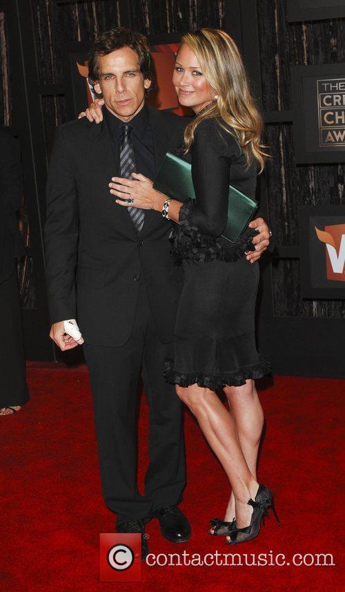 Ben Stiller and Christine Taylor 1