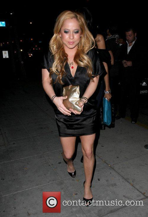 Sabrina Bryant outside the Crown Bar Los Angeles,...