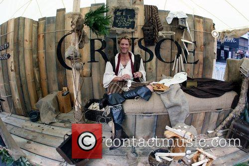NBC's 'Crusoe' New York Photocall at Broadway and...