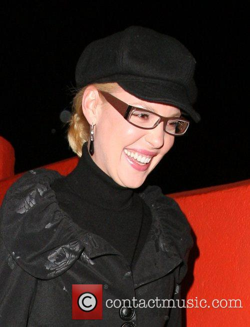 Katherine Heigl leaving Crystal restaurant in hollywood after...