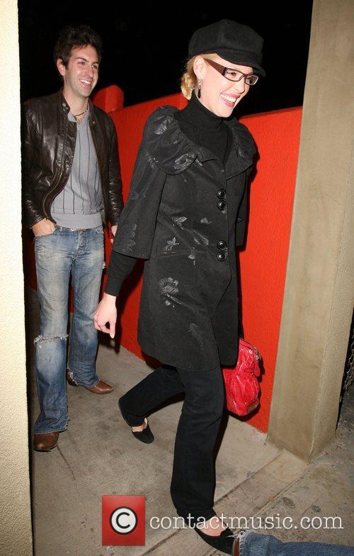 Katherine Heigl and Josh Kelley leaving Crystal restaurant...