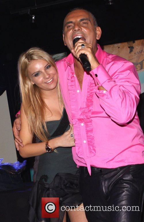 Christian Audigier with his daughter Crystal Rock Crystal...