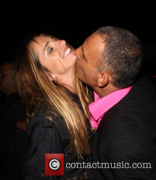 Ira Audigier, Christian Audigier Crystal Rock celebrates her...