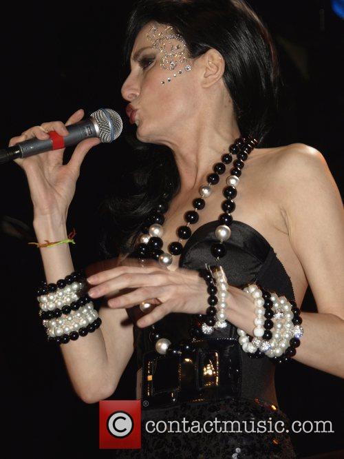 CuCu Diamantes performing at Bowery Ballroom