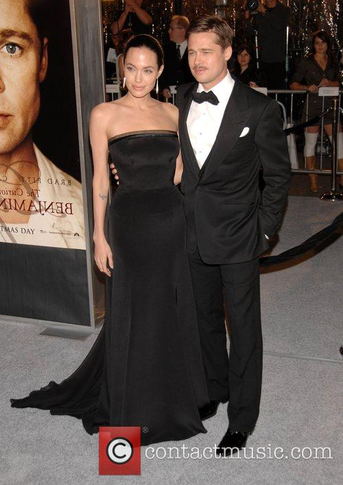Angelina Jolie and Brad Pitt 12