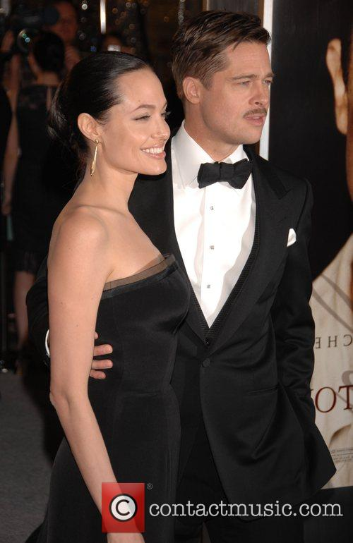 Angelina Jolie and Brad Pitt 2