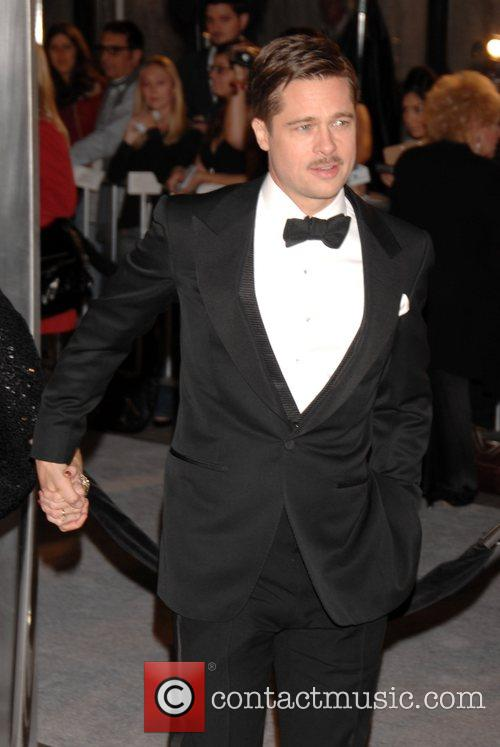 Brad Pitt arrives for the Los Angeles Premiere...
