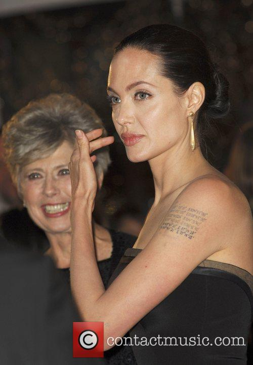 Angelina Jolie and Jane Etta Hillhouse  The...