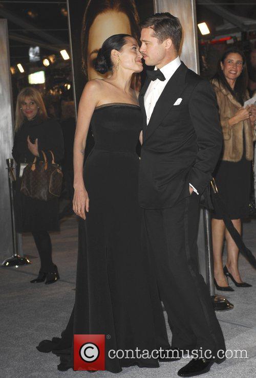 Angelina Jolie and Brad Pitt The Los Angeles...