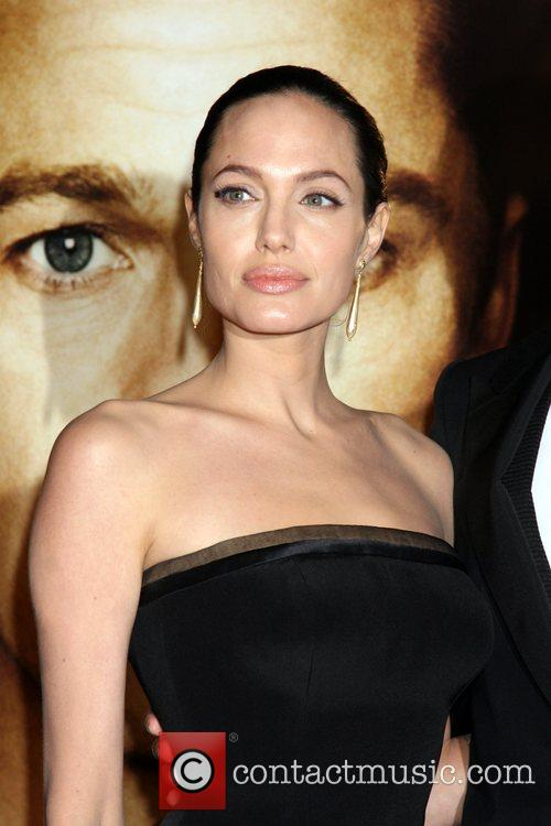 Angelina Jolie The LA Premiere of The Curious...