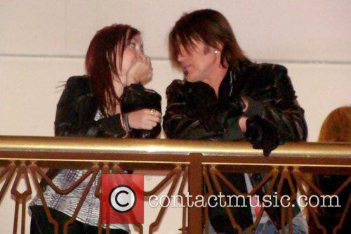 Miley Cyrus and Billy Ray Cyrus Cyrus family...