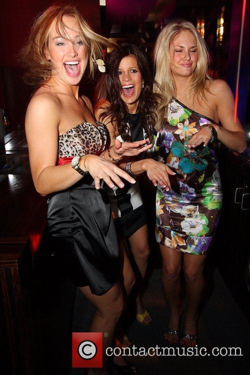 Brooke Sorenson, Trish Trevino and Abigail Klein (L-R)...