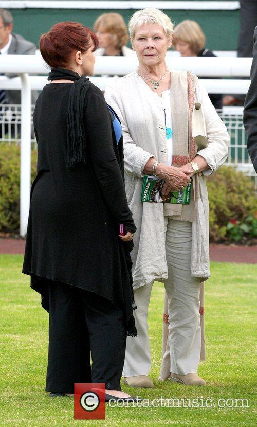 Finty Williams and Judi Dench 6