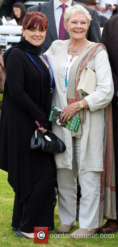 Finty Williams and Judi Dench 5