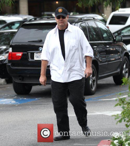 Dan Aykroyd out shopping in Hollywood Los Angeles,...