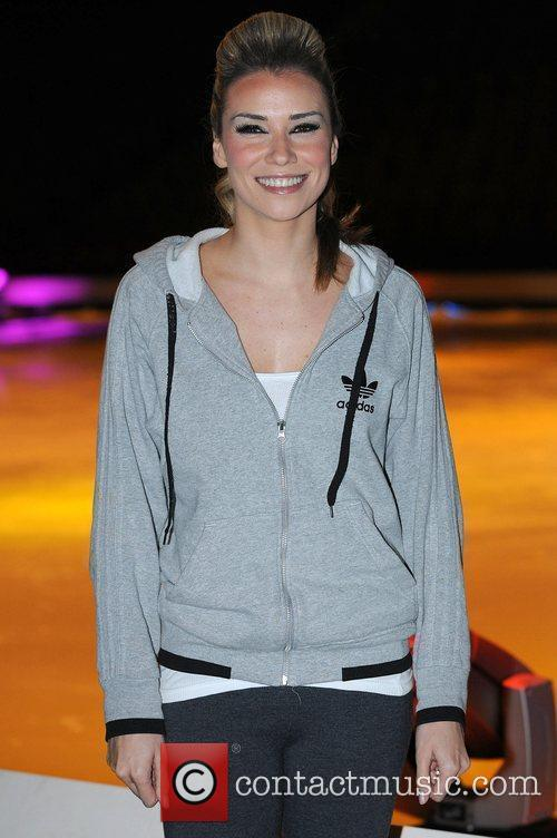 Jessica Taylor 'Dancing on Ice' photocall held at...