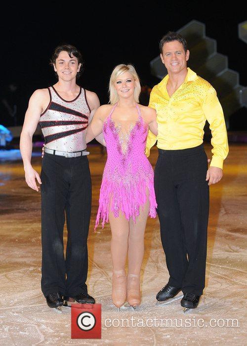 Ray Quinn, Suzanne Shaw and Kyran Bracken 'Dancing...