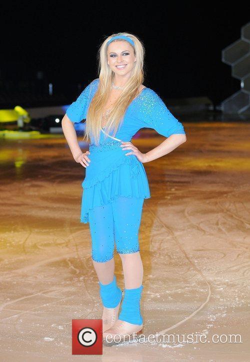Zoe Salmon 'Dancing on Ice' photocall held at...