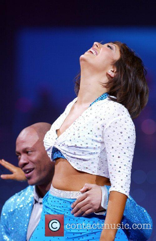 Cheryl Burke and dance partner Samsung Eternity Presents...