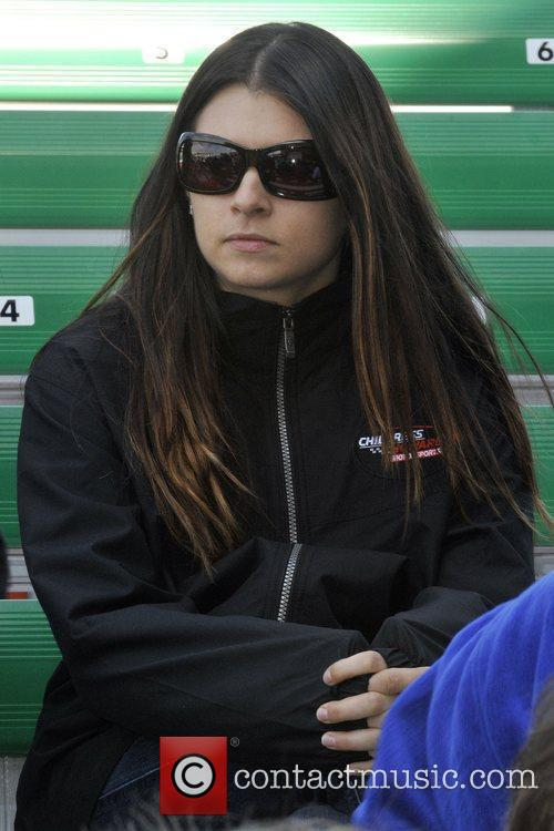 Danica Patrick at the 2009 Rolex 24 hours...