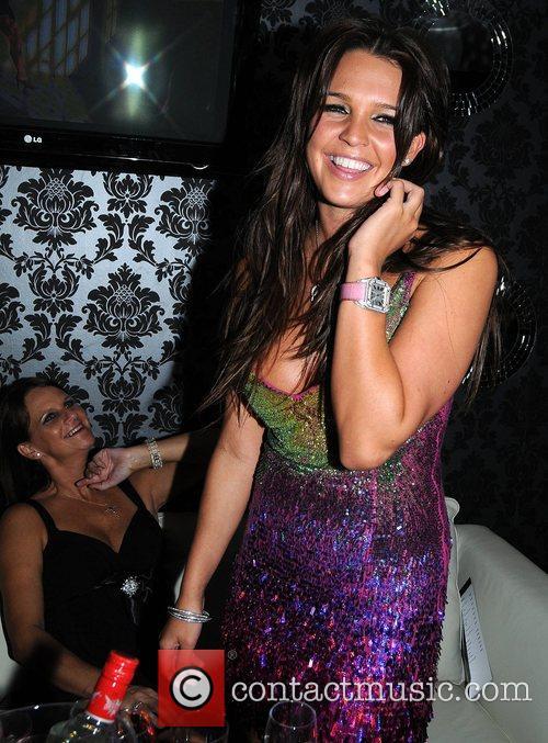 Danielle Lloyd at Mansion night club Dublin, Ireland