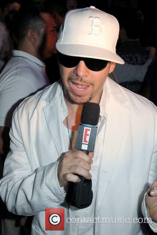 Donnie Wahlberg, New Kids On The Block and The Cure 1