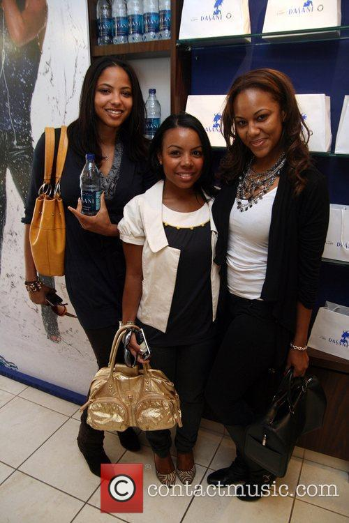 Harlem Heights cast members Bridget and Ashlie with...