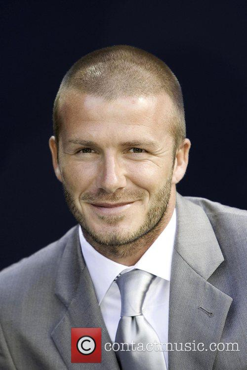 Billboard, David Beckham and Real Madrid 1