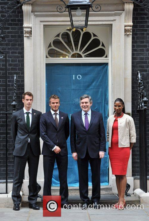 David Beckham, Andy Murray and Denise Lewis 3