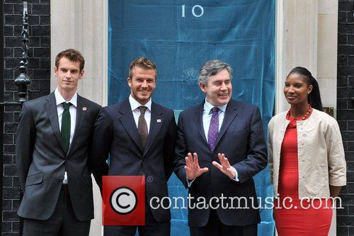 David Beckham, Andy Murray and Denise Lewis 8