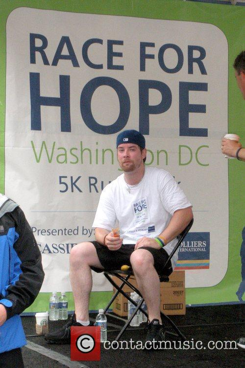 David Cook at the 'Race for Hope' to...