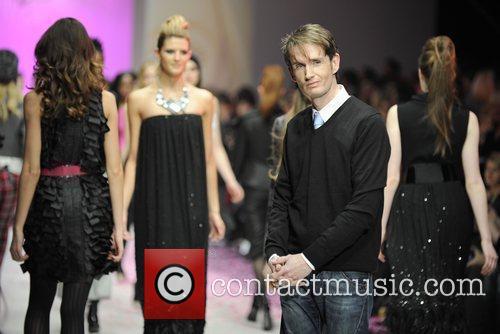 Designer David Dixon  LG Fashion Week -...