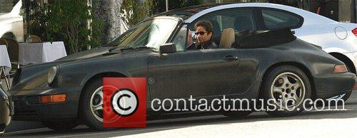 David Duchovny, Evan Handler On The Set Of 'californication' and Filming On Location In Beverly Hills 5