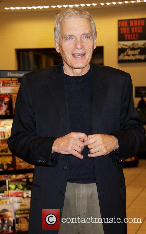 David Selby at a booksigning of Lincoln's Better...