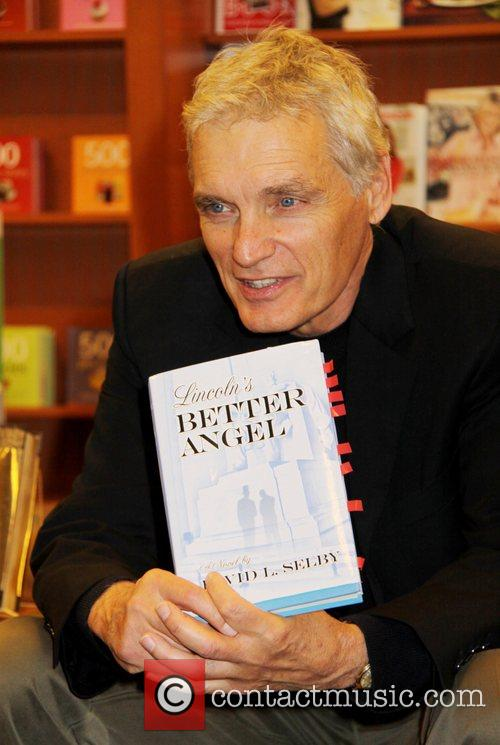 At a booksigning of Lincoln's Better Angel at...